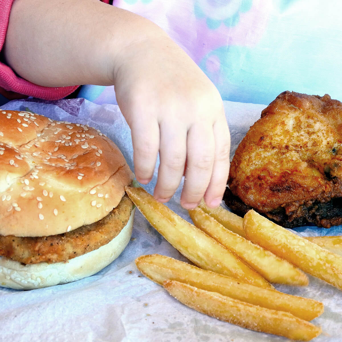 Causes relating to childhood obesity
