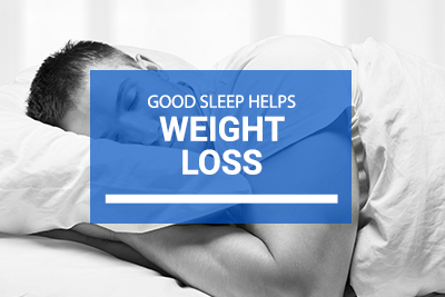 Good Sleep Helps Weight Loss